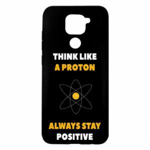 Etui na Xiaomi Redmi Note 9/Redmi 10X Think like a proton always stay positive