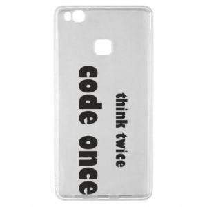 Etui na Huawei P9 Lite Think twice code once