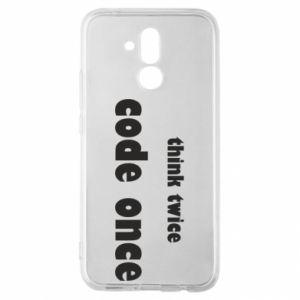 Etui na Huawei Mate 20 Lite Think twice code once