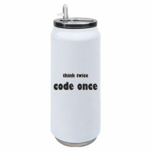 Puszka termiczna Think twice code once
