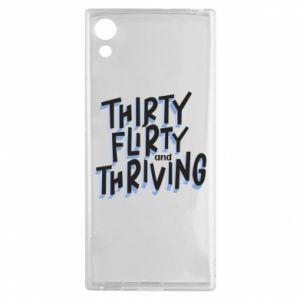 Sony Xperia XA1 Case Thirty, flirty and thriving