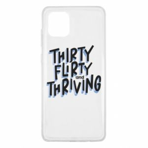 Samsung Note 10 Lite Case Thirty, flirty and thriving