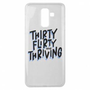 Samsung J8 2018 Case Thirty, flirty and thriving