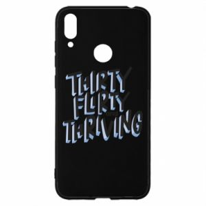 Huawei Y7 2019 Case Thirty, flirty and thriving