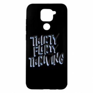 Xiaomi Redmi Note 9 / Redmi 10X case % print% Thirty, flirty and thriving
