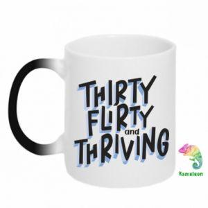 Magic mugs Thirty, flirty and thriving