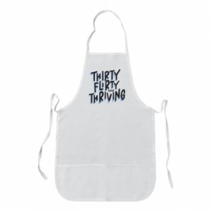 Apron Thirty, flirty and thriving