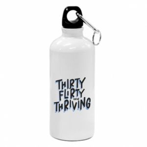 Water bottle Thirty, flirty and thriving