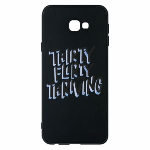 Phone case for Samsung J4 Plus 2018 Thirty, flirty and thriving