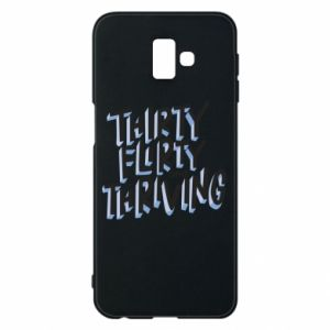 Phone case for Samsung J6 Plus 2018 Thirty, flirty and thriving