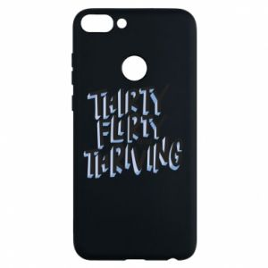 Phone case for Huawei P Smart Thirty, flirty and thriving