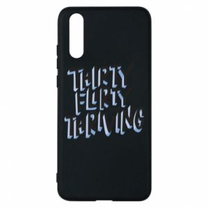 Phone case for Huawei P20 Thirty, flirty and thriving