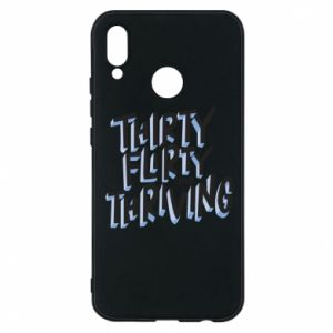 Phone case for Huawei P20 Lite Thirty, flirty and thriving