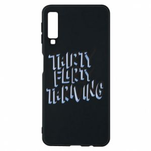 Phone case for Samsung A7 2018 Thirty, flirty and thriving