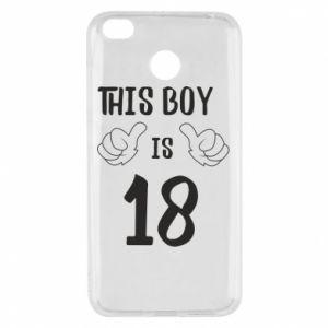 Xiaomi Redmi 4X Case This boy is 18!