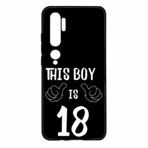 Xiaomi Mi Note 10 Case This boy is 18!