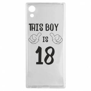 Sony Xperia XA1 Case This boy is 18!