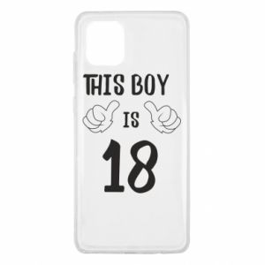 Samsung Note 10 Lite Case This boy is 18!