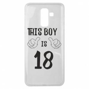 Samsung J8 2018 Case This boy is 18!