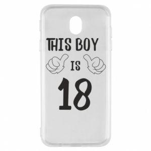 Samsung J7 2017 Case This boy is 18!