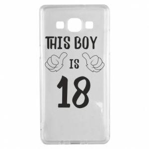 Samsung A5 2015 Case This boy is 18!