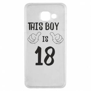 Samsung A3 2016 Case This boy is 18!