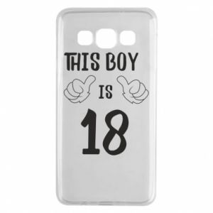 Samsung A3 2015 Case This boy is 18!