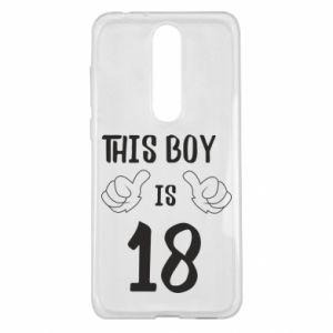 Nokia 5.1 Plus Case This boy is 18!