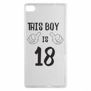 Huawei P8 Case This boy is 18!