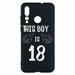 Huawei Nova 4 Case This boy is 18!