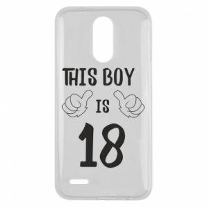 Lg K10 2017 Case This boy is 18!