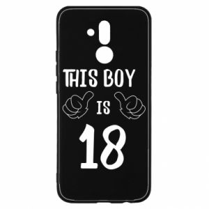Huawei Mate 20Lite Case This boy is 18!