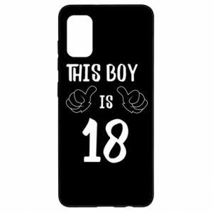 Samsung A41 Case This boy is 18!