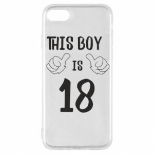 iPhone SE 2020 Case This boy is 18!