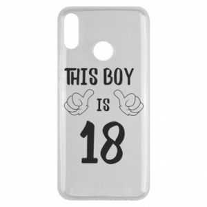 Huawei Y9 2019 Case This boy is 18!