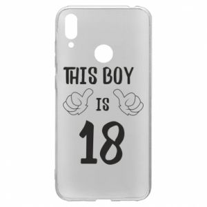 Huawei Y7 2019 Case This boy is 18!