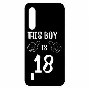 Xiaomi Mi9 Lite Case This boy is 18!