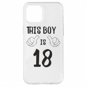 iPhone 12 Pro Max Case This boy is 18!