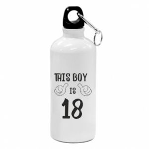 Water bottle This boy is 18!
