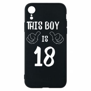 Phone case for iPhone XR This boy is 18!