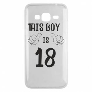 Phone case for Samsung J3 2016 This boy is 18!