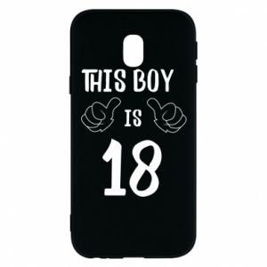 Phone case for Samsung J3 2017 This boy is 18!