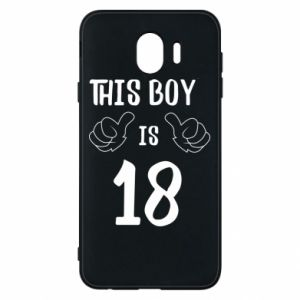 Phone case for Samsung J4 This boy is 18!