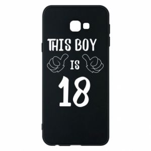 Phone case for Samsung J4 Plus 2018 This boy is 18!