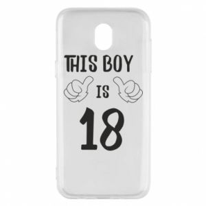 Phone case for Samsung J5 2017 This boy is 18!