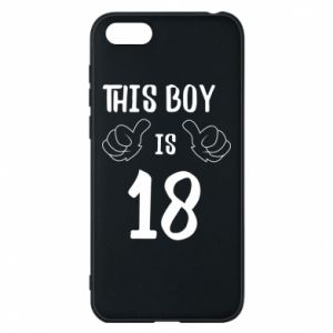 Phone case for Huawei Y5 2018 This boy is 18!