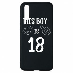 Phone case for Huawei P20 This boy is 18!