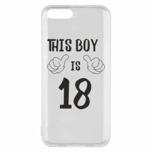 Phone case for Xiaomi Mi6 This boy is 18!