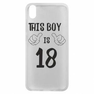 Phone case for Xiaomi Redmi 7A This boy is 18!