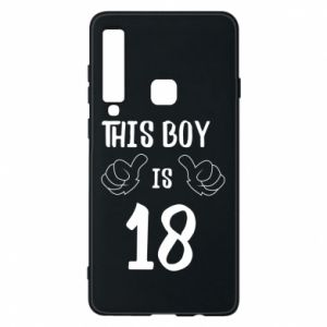 Phone case for Samsung A9 2018 This boy is 18!